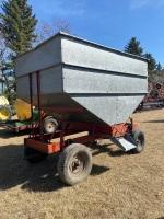 *150 Bushel Kendon galvanized gravity box