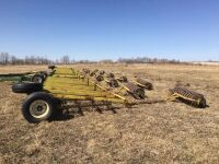 60' Laurier harrow packer bar w/P20 coils (needs harrows replaced)