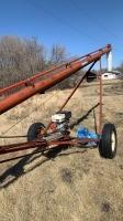 "7""x41' Sakundiak grain auger, s/n 18150"
