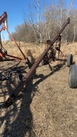 """6""""x23' auger w/3hp 1ph electric motor"""
