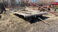 10'x16' hay deck on 4 Wheel wagon