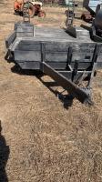 21' Homemade Tandem axle sprayer trailer