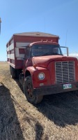 1968 IH Loadstar 1800 sa truck with 15 ft grain box, 082063 miles showing, VIN# 457240G371150 Owner: Heaman C James & Sons, Seller: Fraser Auction _______________