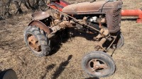 Farmall A tractor (parts not running), s/nFAA145868