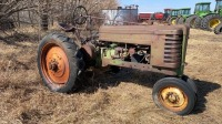 JD H Tractor, (not running, parts only), s/nH58780