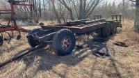 HD tandem axle wagon with beavertails, NO TOD