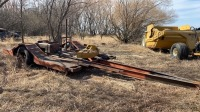 Single axle wagon with over fender ramps, NO TOD