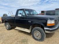 *1994 Ford F-250 XL 3/4 ton 4x4 Reg Cab truck, VIN #1FTHF26KXRNB83798, Owner: 3694306 MB LTD Seller: Fraser Auction_____________ *TOD, SAFTIED, KEYS*