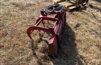 *Skid Steer Mount manure fork