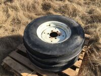 F-2 (7.50-16) 6-ply tractor tire on 6-bolt rim