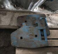 (2) weights off Bi-Di tractor