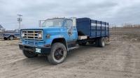 1973 GMC S/A flatdeck water truck
