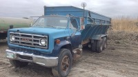 1979 GMC 7000 gas tandem truck