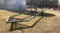 Irrigation pipe trailer