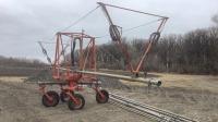 Irrigation wheel move unit
