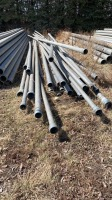 """Assorted 3"""" and 4"""" irrigation pipe"""