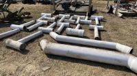 Underground irrigation pipe