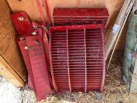 *Hard Thrash concaves with filler plates for CaseIH 8120