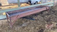 10' metal bunk feeder (brown)