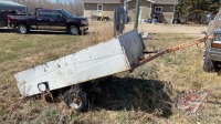 Single axle ATV wagon NO TOD (sells with (2) forks, dehorner, hyd cylinder)