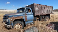 Chev 60 parts truck with box and waste