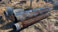 Assorted used culverts