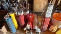 Assorted welding rod