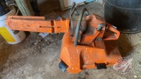 Husqvarna 51 chainsaw with Poly case