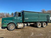 *1994 Volvo T/A grain truck, ______________ Kms Showing, VIN#4V1JDBGF5RR830725, Owner: Everett Locke, Seller: Fraser Auction____________ ***TOD, SAFETIED & KEYS***