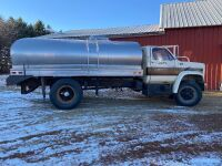 *1977 Chev C65 S/A tanker truck, 91,671 miles showing, VIN#CCE667U117742, Owner: Clare A Moir, Seller: Fraser Auction_____________ ***TOD & KEYS***