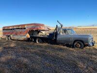 *1992 Dodge 1 ton Dually truck, 381,938kms showing, VIN# 1B6ME36C7NS568140, VIN# TK198029 Owner: Everett Locke, Seller: Fraser Auction___________ ***TOD & KEYS***