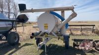 REM 552 Midwest grain vac With 540 PTO, steel hose kit, rubber flex hose