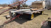 4-wheel farm wagon w/16ft rack deck