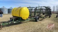 53ft Herman harrow w/500-gal poly tank, hyd pump