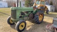 JD AR tractor