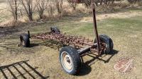 Four wheel farm wagon