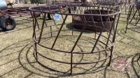 Standard round bale feeder ring