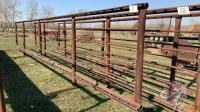 *30' Free Standing windbreak combo panels, (no boards)