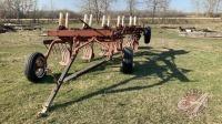 *5-bottom IH plow w/slotted shears & on-row heavy harrow tine