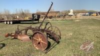 *single furrow breaking plow (no hitch)