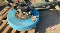 "*6"" Water Master floating slough pump w/6hp Tecumseh motor, (no hose)"