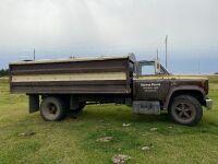 *1979 Chev C70 S/A grain truck, 82507kms showing, VIN#C17DB9V116817, Owner: Trevor R Halwas, Seller: Fraser Auction_________ ***TOD, FRESHLY SAFETIED & KEYS***
