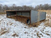*10'x30' HD Calf Shelter