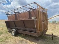 *Cypress Industries approx 400-0bus Creep Feeder on wheels