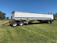 *42ft Westank-Willock T/A grain trailer