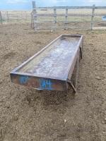*10'metal trough feeder