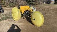 3 wheel floatation water bike F55