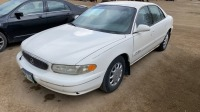 2002 Buick Century Custom, 4 Door, 6 cyl, White, 229,575 Kms Showing, hitch 1 7/8 inch, VIN# 2G4WS52J921170626 F69, Owner: Norma M Sheardown, Seller: Fraser Auction_____________