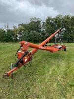 *62' Brandt PTO swing hopper auger