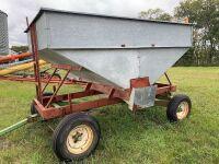 *gravity grain wagon